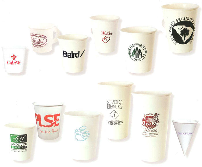 Printed Customized Paper Cups